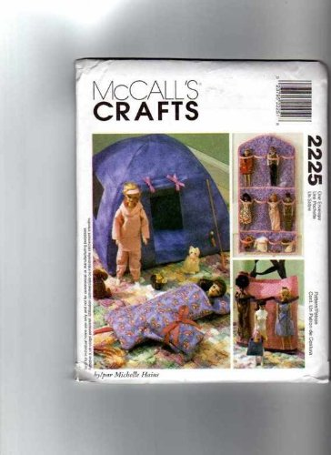 Mccall's Crafts 2225 Barbie/Fashion Doll Accessories Sewing Pattern - Barbie Doll Pattern