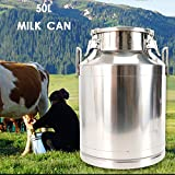 Transport Cans Stainless Steel Milk Can 50 Liter
