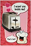 NobleWorks 2138 ''Want You Inside Me'' Funny Valentine's Day Unique Greeting Card, 5