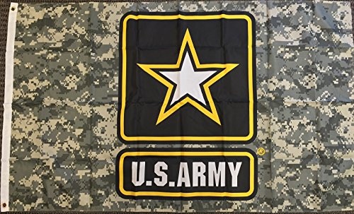 United States Military Camouflage Pennant product image