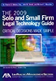 The 2009 Solo and Small Firm Legal Technology Guide, Sharon Nelson and Michael C. Maschke, 1604423218