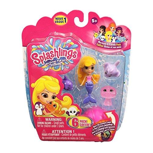 Splashlings Wave 1 Toy Figure Style 17 by Splashlings