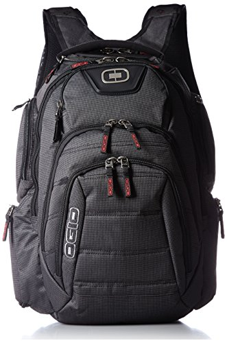 Ogio Computer Bags (OGIO Renegade RSS Day Pack, Large, Black Pindot)