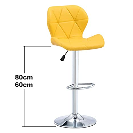 Wondrous Amazon Com Xmzfq Pu Leather Bar Stools With Backs Modern Machost Co Dining Chair Design Ideas Machostcouk