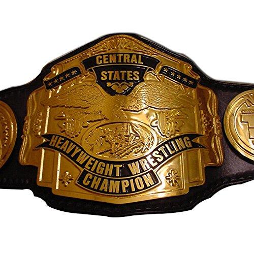 Haiosports NWA Central States Replica Title Belt (Replica Belt Nwa)