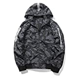 Marck Sch Fashion jacket Men's Solid Waterproof Windbreaker Coats Casual Slim Jacket Men Outwear Army Clothing Grey J76 XL