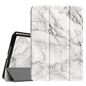 """Fintie iPad 9.7 Inch 2017 Case - Lightweight Slim Shell Standing Cover with Auto Wake / Sleep Feature for Apple iPad 9.7"""" 2017 Release Tablet, Marble"""