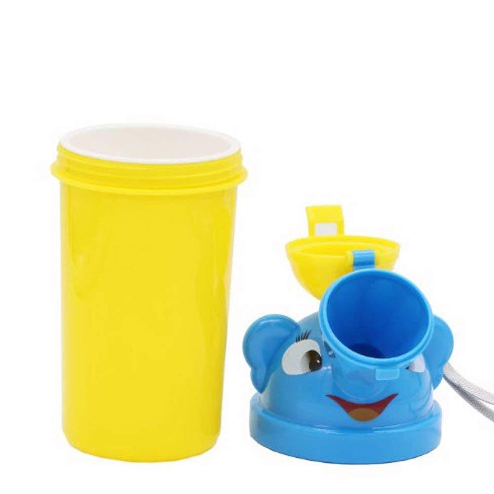 Amarillo para joven port/átil beb/é ni/ño orinal Urinario Ni/ño Ni/ño orinal Entrenamiento para camping Auto Viaje Chica Viaje orinal Urinario Entrenamiento WC Homepro Duct Baby Product