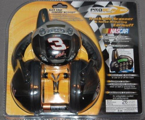 Proscan C30-3 NASCAR #3 Dale Earnhardt Sr Trackside Scanner with FM Radio