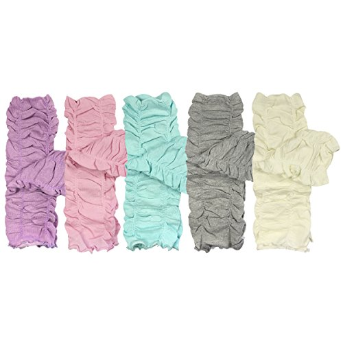 Bowbear Set of 5 Baby & Toddler Leg Warmer Collection Premium Value Pack, VS1