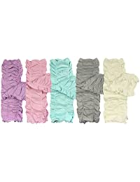 Set of 5 Baby & Toddler Leg Warmer Collection Premium Value Pack