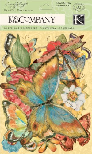 Price comparison product image K&Company Susan Winget Die-Cut Cardstock, Nature