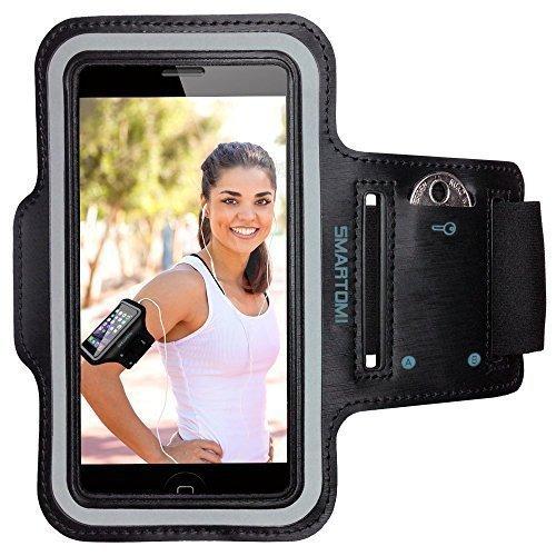 SmartOmni Sport Armband with Adjustable Length Band + Key Sl