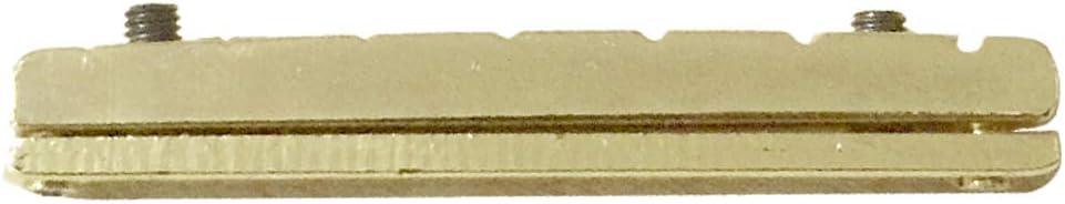 1 x Tuerco de Puente para Guitarra Eléctrica Altura Regulable 7 Cuerdas Duradera Exquisita Diseño Ajustable Informática