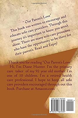 Our Parent's Love: Diane D Hunter: Amazon com: Panworld Global