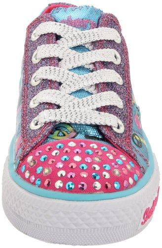 Skechers Shuffles 10211L TQHP Mädchen Sneaker Türkis/TQHP