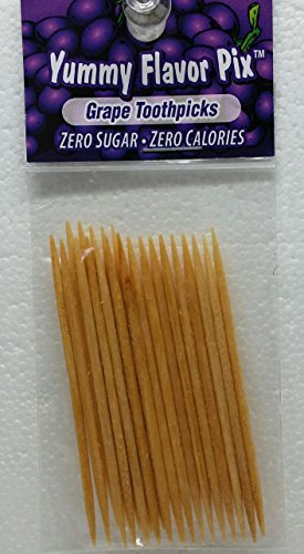 (Flavored Toothpicks by Yummy Flavor Pix - Grape)