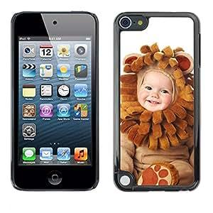 Be Good Phone Accessory // Dura Cáscara cubierta Protectora Caso Carcasa Funda de Protección para Apple iPod Touch 5 // Cute Baby Wear