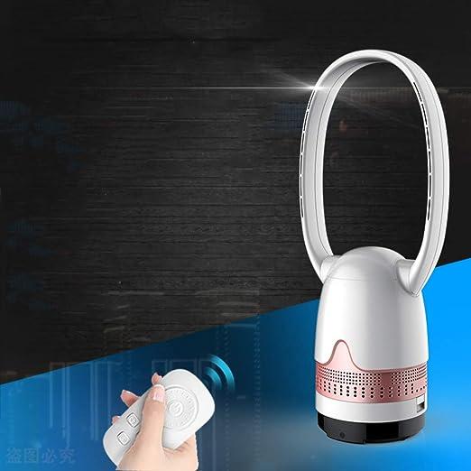 IMUGTT Ultra-silencioso Ventilador Sin Aspas, Oscilante Remote ...