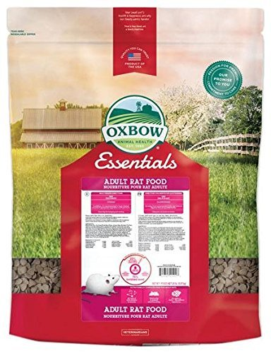 Oxbow Animal Health Essentials Regal Adult Rat Food, 20-Pound