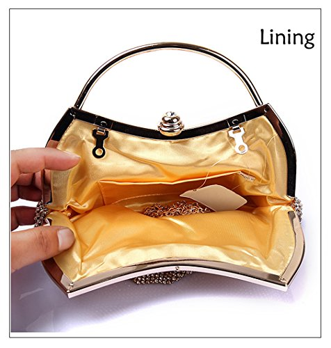 wallet waistbag polyester 2 black Evening Womens wedding Fashion trends HopeEye clutch bag Ywz1Hqw