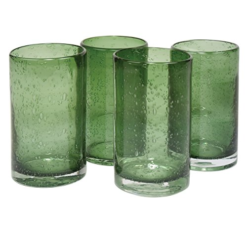 Artland 50957B Iris Hiball Glass, Set Of 4 17 oz Sage