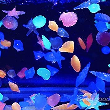 Saver Piedras incandescentes pecera acuario paisaje luminoso decorar ...