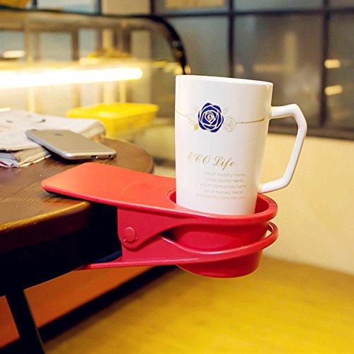 Huge Desk Cup Holder for Home and Office - Sofa Table Cup Holder