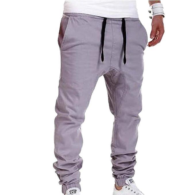 202d5e3b2 HaiDean Pantalones Pantalones Casual para Super Jogging Pantalones Hombre  Cómodo Modernas Casual Top Pantalones Moderno Hombres Hombres Pantalones  Ligeros ...