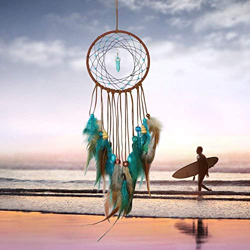 Iulove Handmade Dream Feathers Decoration for Car Wall Hanging Room Home Decor