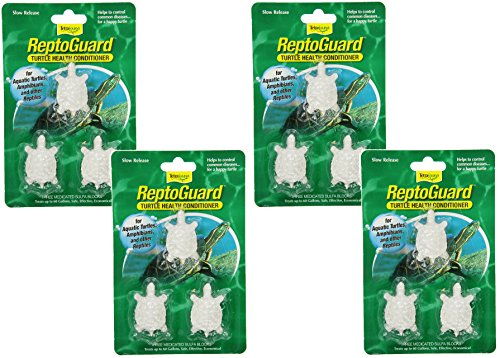 Tetra ReptoGuard Water Conditioner Block, 12-Count (4 Packs with 3 Blocks per Pack)