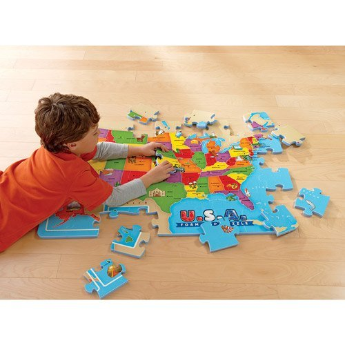 Usa Map Floor Puzzle - 8