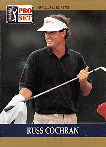 Pro Golf Set Card (Russ Cochran trading card (Golf Golfer PGA University of Kentucky) 1990 Pro Set #14)