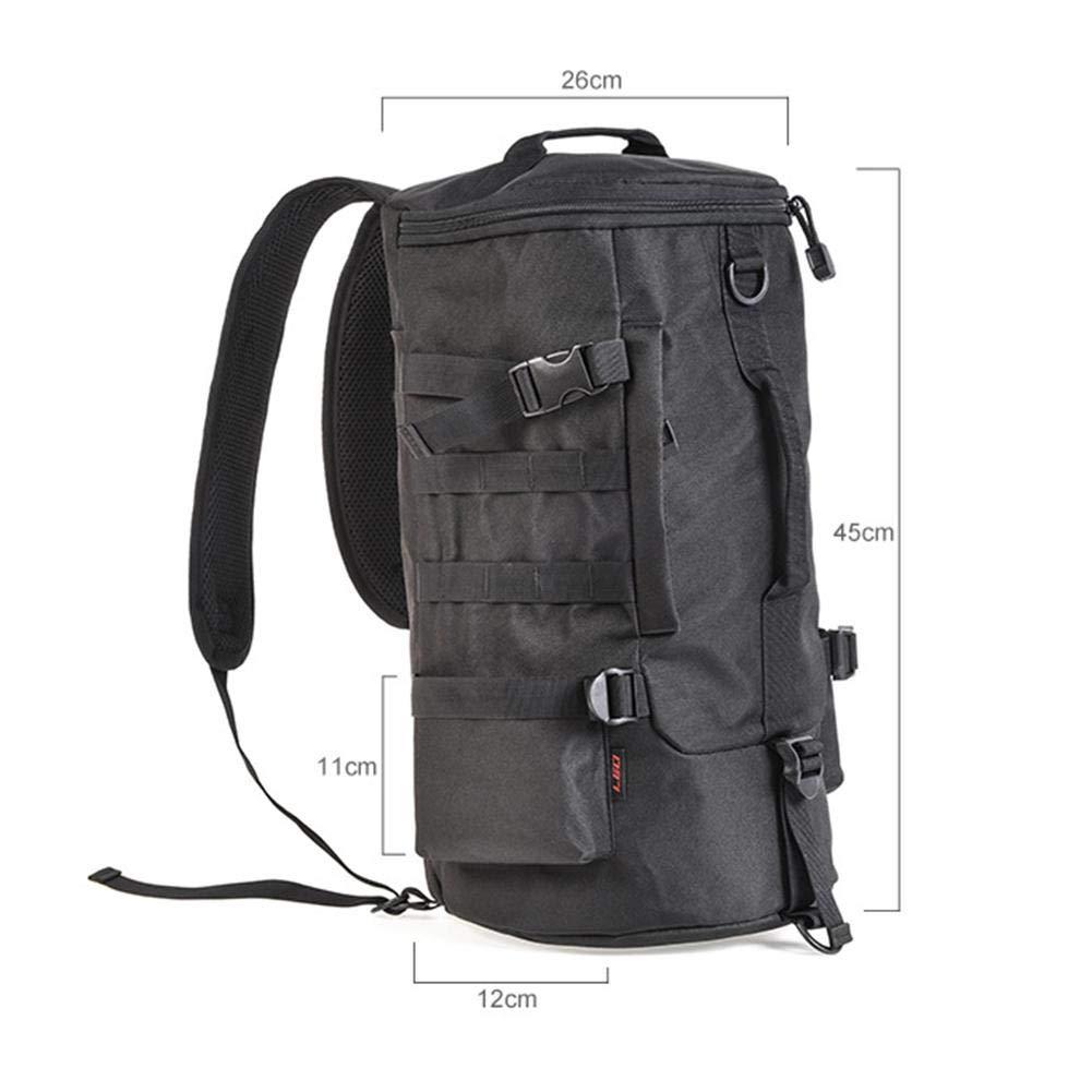 smileyshy Fishing Bag Portable Cylindrical Fishing Gear Backpack Cylinder Fishing Bag Fishing Backpack Luya Outdoor Bag