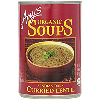 Curried Lentil Soup, by Amy's Kitchen, 14.5 oz