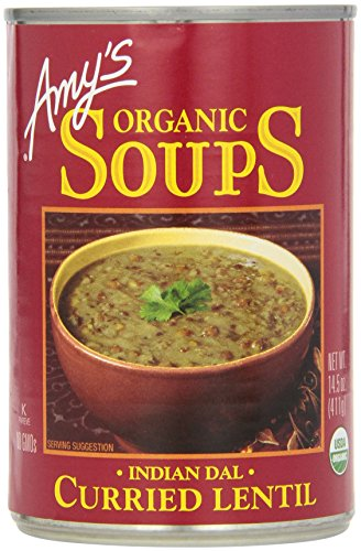 Amys Organic Soups Curried Lentil