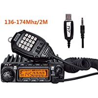 HESENATE X TYT TH-9000D Mobile Transceiver 136-174MHz 65W 200 Channel Car Radio (Ham) W/Free Cable