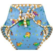 Kushies Swim Diaper, Goldfish Print, Medium by Kushies