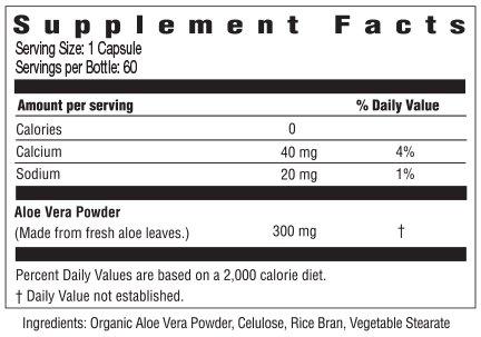 AloeCure Advanced Formula - Twice a Day Aloe Vera Capsule 60 capsules by AloeCure (Image #1)