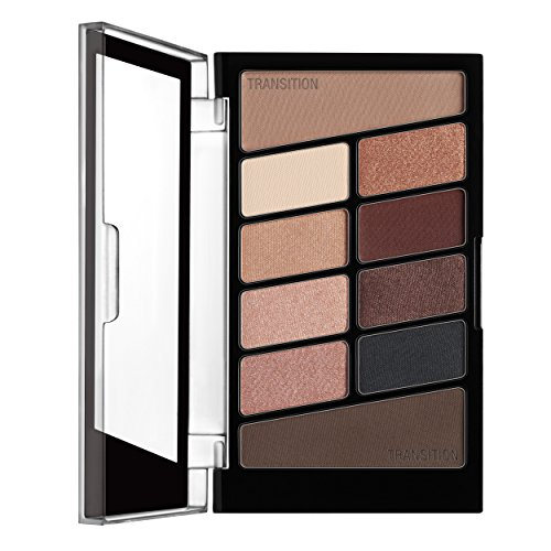 wet n wild Color Icon Eyeshadow 10 Pan Palette, Nude Awakening, 0.3 Ounce