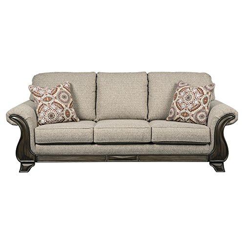 Benchcraft - Claremorris Traditional Upholstered Sofa - Fog ()