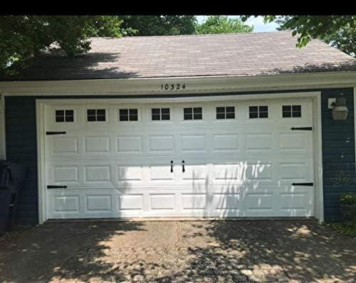 Magnetic Panels for Car Garage Door Decoration, Fake Decorations Window  Panels for Garage Doors,Grace Make Rubber Magnetic Panels, 9 Pcs, 9 x 9  inch