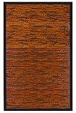 Anji Mountain AMB0085-0069 Cobblestone Area Rug, Mahogany, 6 x 9-Feet