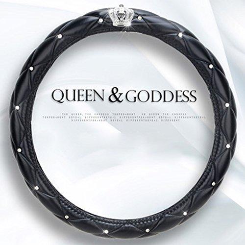 38cm-15-ladies-car-steering-wheel-diamond-lattice-girls-classy-fashion-collection-car-steering-wheel