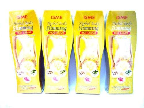 Herbes ISME 4x Forme Herbal Raffermissant Corps Crème amincissante Hot réduire la cellulite Fat