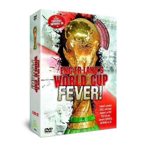 Englands World Cup Fever 2DVD + Anthems CD