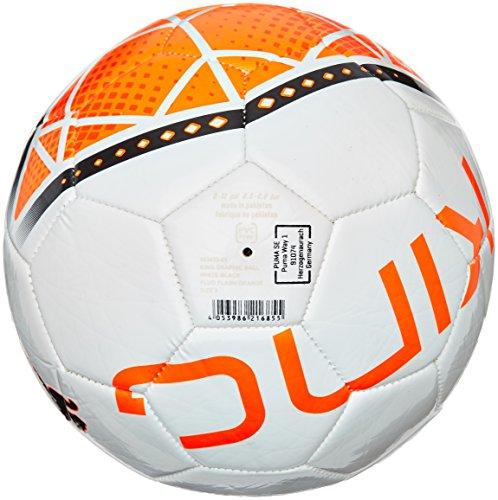 PUMA Ball King Graphic - Balón de fútbol de ocio, color blanco, talla 5 Blanco