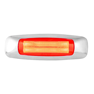 "GG Grand General 74752 Light (5"" Rectangle Prime Red 4 LED Dual Function): Automotive"