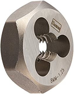 """product image for Kodiak Cutting Tools KCT171433 USA Made Hex Carbon Rethreading Die, 1 Hex OD, M8 x 1.25"""""""