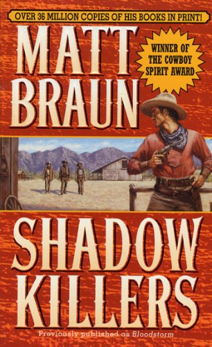 book cover of Shadow Killers